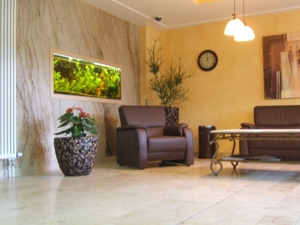 Raumteiler Premium Aqaurium mit Pflegeservice